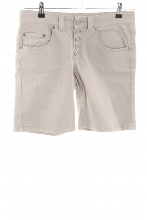 Livre High-Waist-Shorts wollweiß Casual-Look