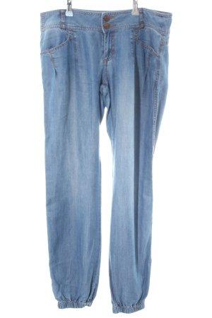 Livre Jeans vita bassa blu stile casual