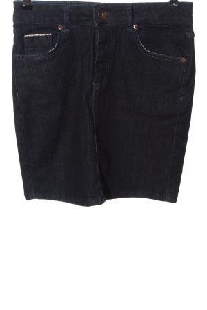 Livre Denim Skirt blue casual look