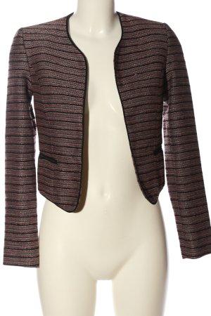 Livre Short Blazer striped pattern casual look