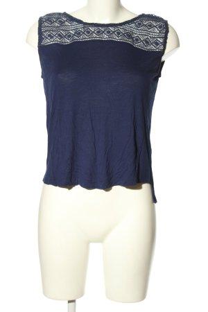 Livre Koszulka o kroju podkreślającym sylwetkę niebieski W stylu casual