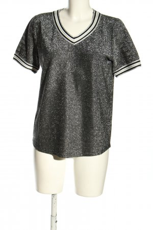 Livre Knitted Jumper black-silver-colored casual look