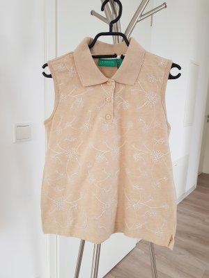 Liz Claiborne Camiseta tipo polo marrón claro-beige