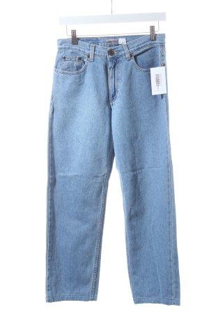 "Liz Claiborne Straight-Leg Jeans ""Relaxed Fit Petit"" hellblau"