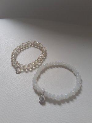Lizas Bracelet blanc-bronze