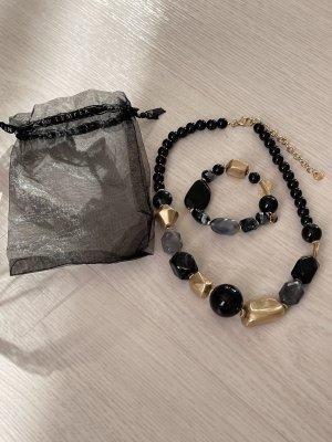Lizas Halskette und Armband mit geschenksackerl neu