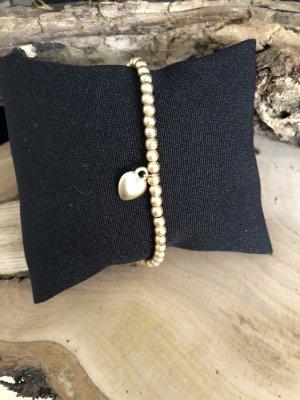 Lizas Bracelet en perles doré
