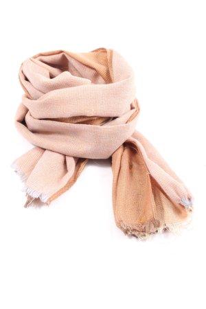 Lizas Écharpe en tricot rose chair style décontracté