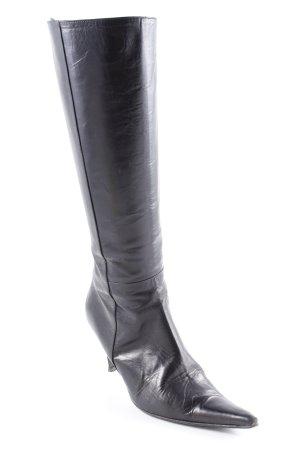 Lloyd Absatz Stiefel schwarz extravaganter Stil