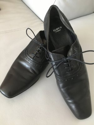 Lloyd Halbschuhe Schnürschuhe Business schwarz, Gr. 41 getragen, jedoch guter Zustand