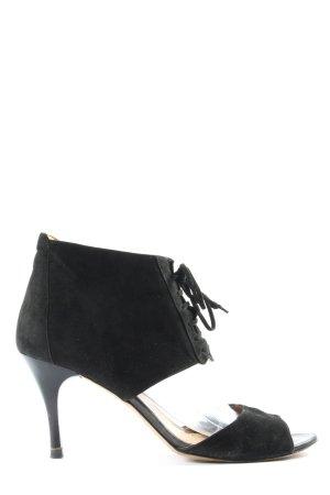 Lloyd High Heel Sandaletten schwarz Casual-Look