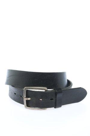 Lloyd Cintura di pelle nero stile casual
