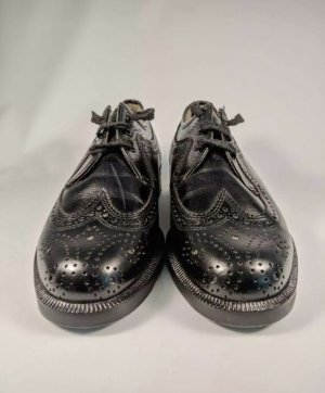 Lloyd Wingtip Shoes black leather