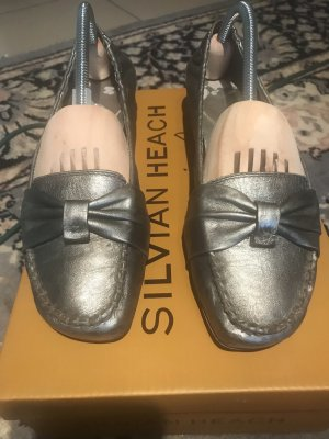 LLOYD PUMPS BALLERINA IN SILBERGRAU GR:38