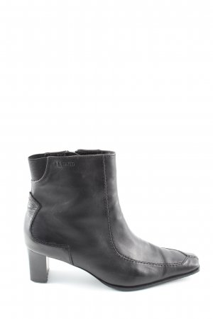 Lloyd Reißverschluss-Stiefeletten schwarz Street-Fashion-Look