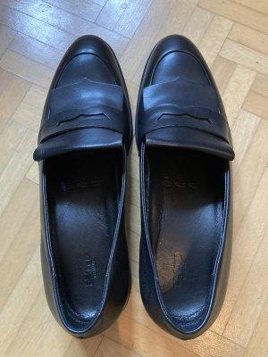 Lloyd Schuhe Leder Damen klassisch schwarz 38 bzw Größe 5