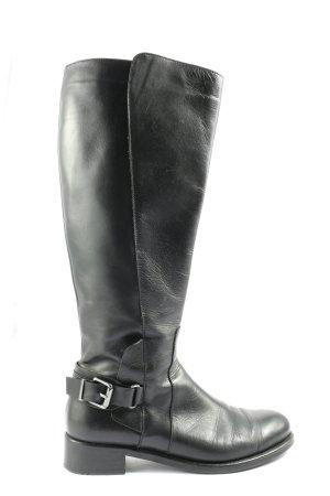 Lloyd Wide Calf Boots black casual look