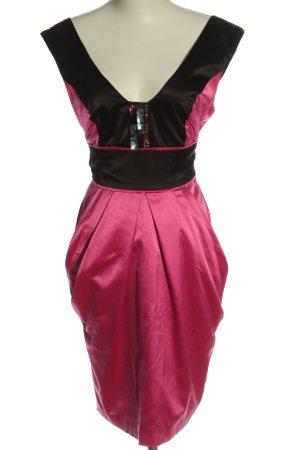 LM Lulu Minikleid schwarz-pink Elegant