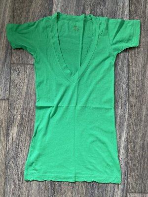 Lna T-shirt verde Cotone