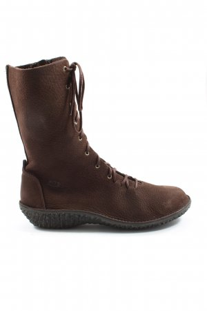 lnts Lace-up Boots brown casual look