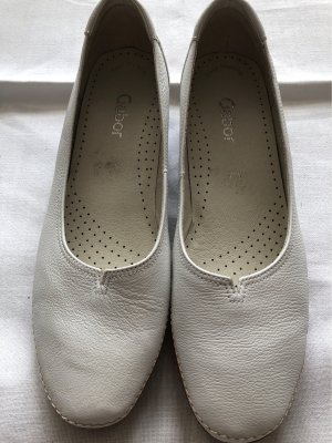 Gabor Moccasins white leather