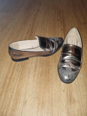 Zara Pantofola bronzo