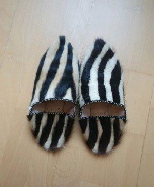 Loafer in Pelzoptik