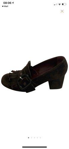 Unbekannter designer Chaussure décontractée brun foncé