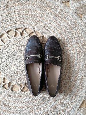 Loafer Krokoleder Schnalle