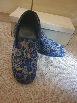 Loafer mit Absatz