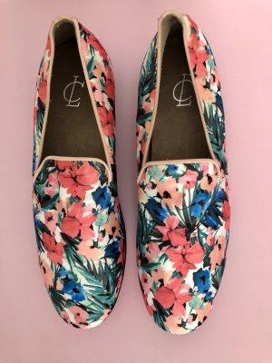 Loafer mit Blumenprint
