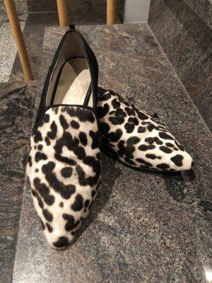 Loafer mit Leo Fell Besatz