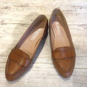 Loafer/Mokassins mit Ledersohle Gr. 39 - nur 1 x getragen