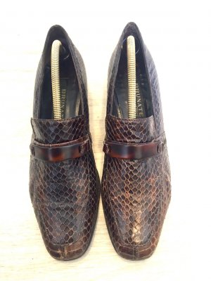 Brunate Slip-on Shoes dark brown leather