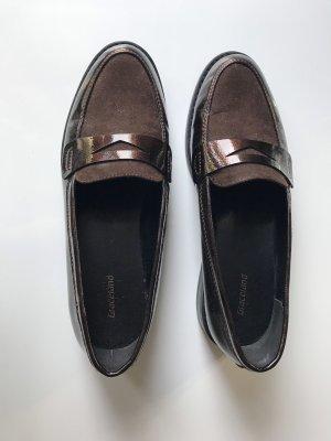 Deichmann Wingtip Shoes dark brown