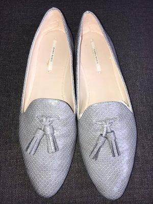 Loafer Slipper Zara 39 grau