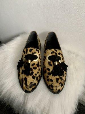 Loafer von ASOS im Leopardenmuster