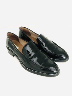 Loafer von H&H, schwarz, Leder, Gr. 40