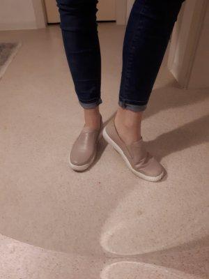 Loafers aus echtem Leder