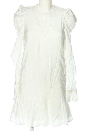 Loavies Blusenkleid weiß Casual-Look