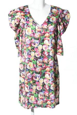 Loavies Blusenkleid Blumenmuster Elegant