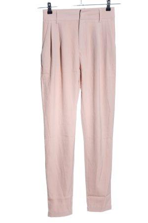 Loavies Bundfaltenhose pink Casual-Look