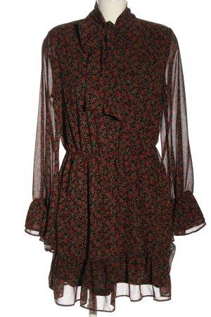 Loavies Robe chiffon imprimé allover style décontracté