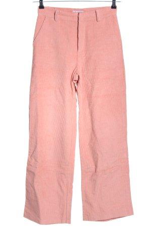 Loavies Cordhose pink Casual-Look