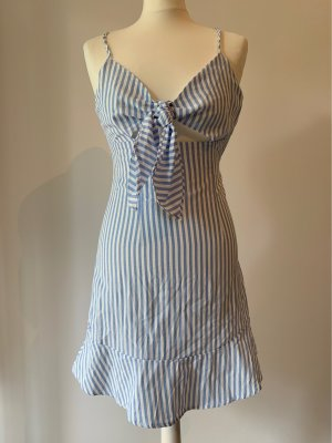 Loavies Cut out jurk wit-azuur