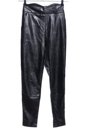 Loavies High-Waist Hose schwarz Casual-Look