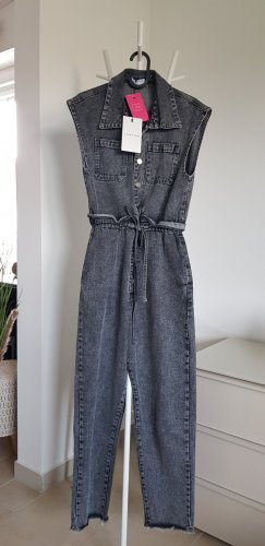 Loavies Jumpsuit Jeans in Grau Overall Gr.34