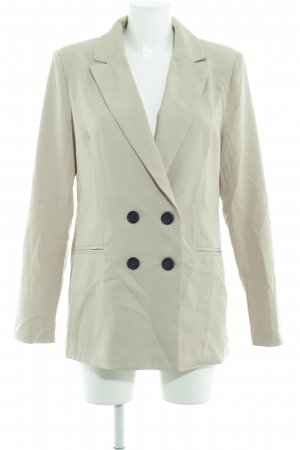 Loavies Long-Blazer creme Casual-Look