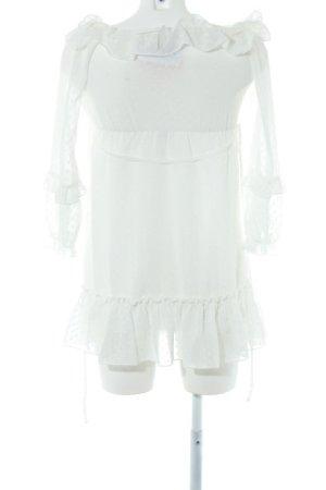 Loavies Minikleid weiß Casual-Look