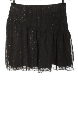 Loavies Minirock schwarz Elegant